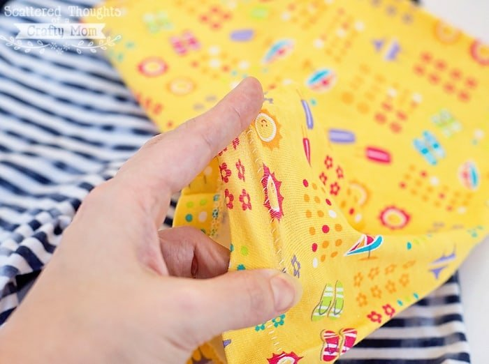 how to make a blind hem