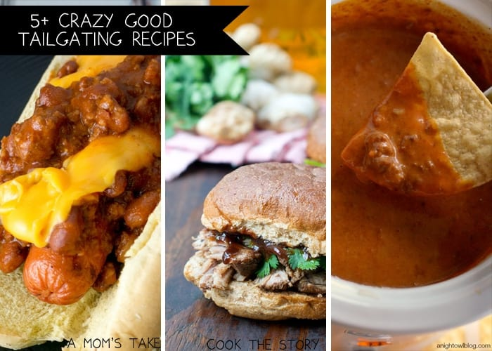 5+ Crazy Good Tailgating recipes for your next get-together!