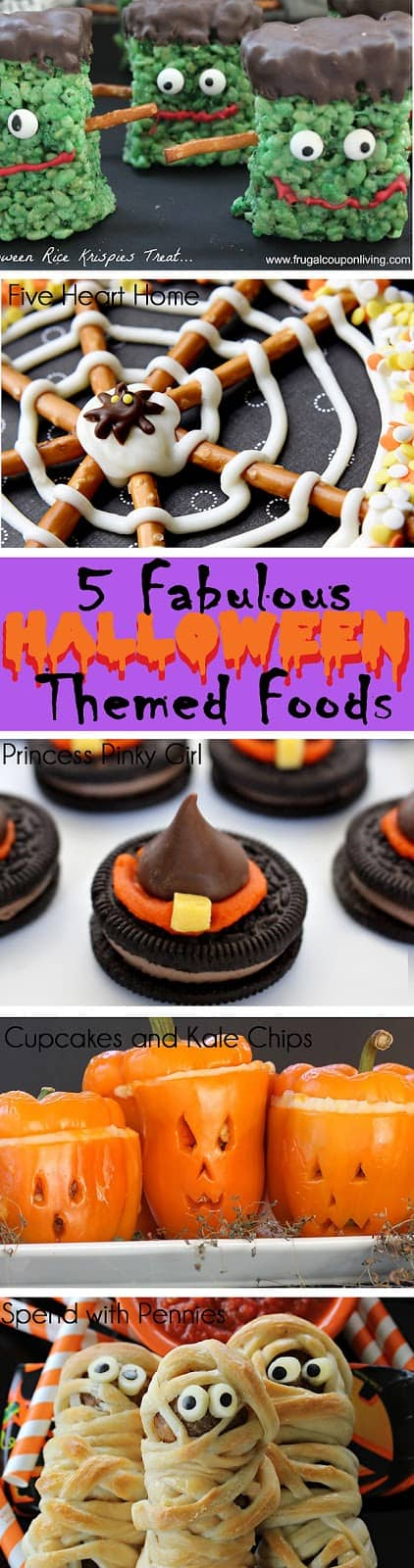5 fabulous halloween themed foods   scattered thoughts of