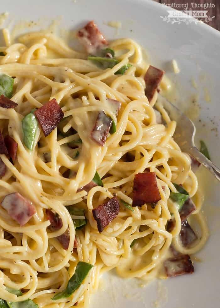 How to make spaghetti carbonara