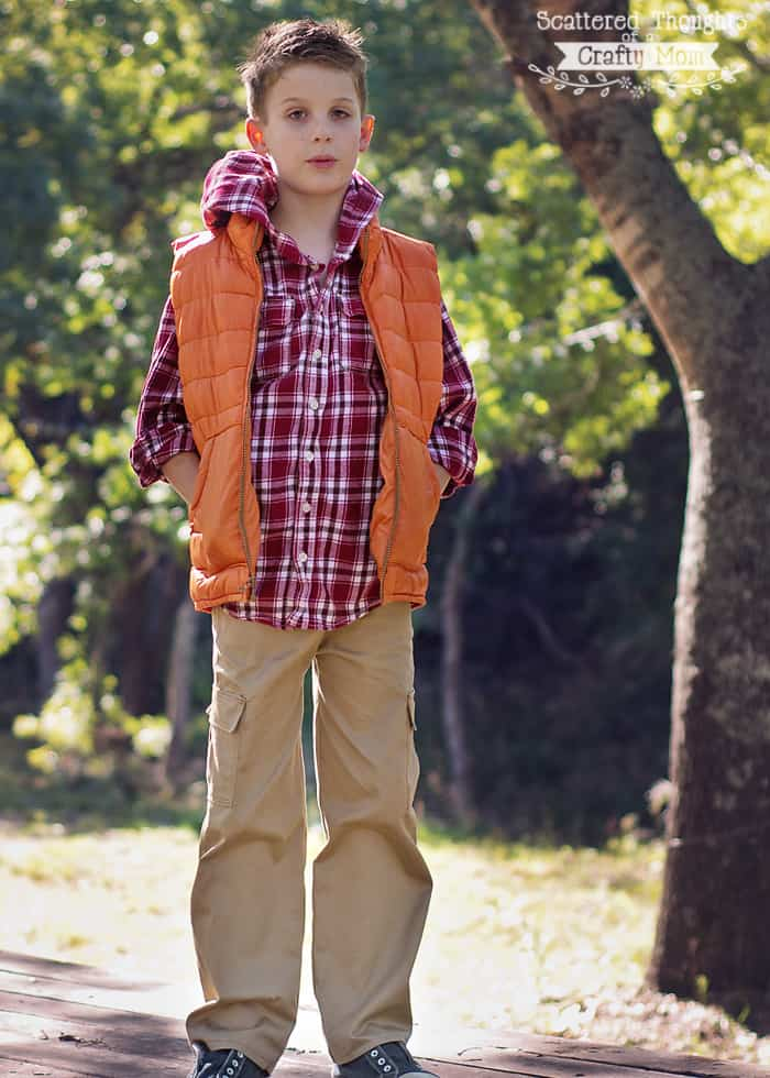 sew pants for boys