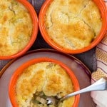Quick and Easy Mini Chicken Pot Pies Recipe