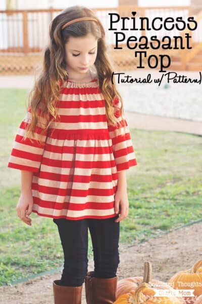 Princess Peasant Top Tutorial