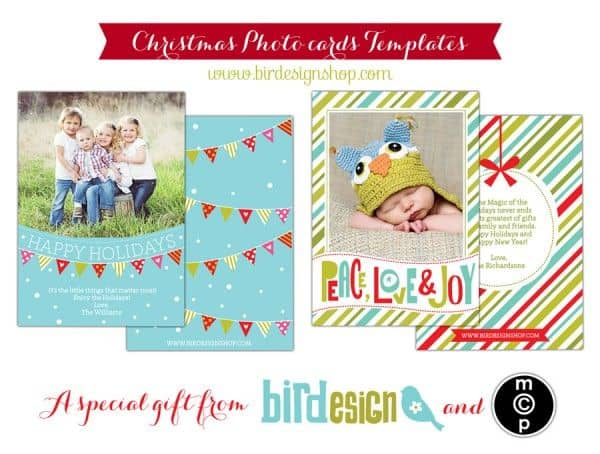 DIY Holiday Postcards 14 Free Holiday Card Templates Scattered – Free Xmas Card Template