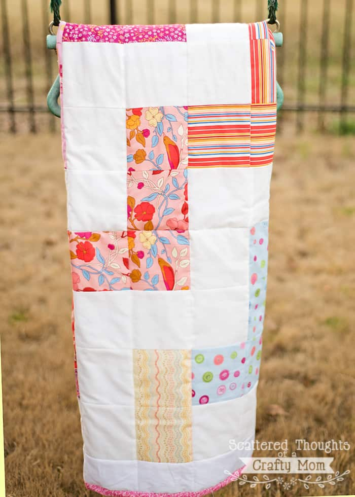 Free Zig Zag Quilt Pattern And Tutorial Scattered