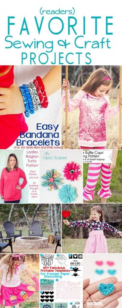 Readers favorite Sewing and Craft Projects