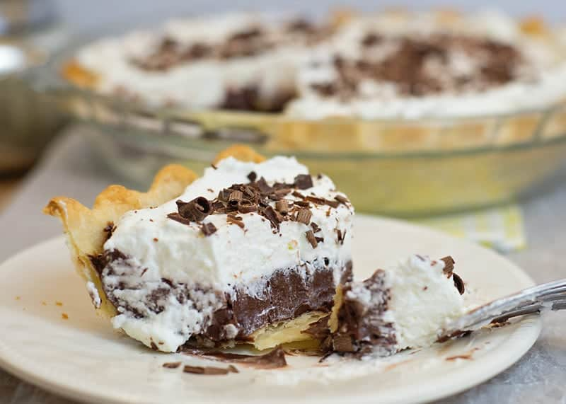 how to make a chocolate cream pie