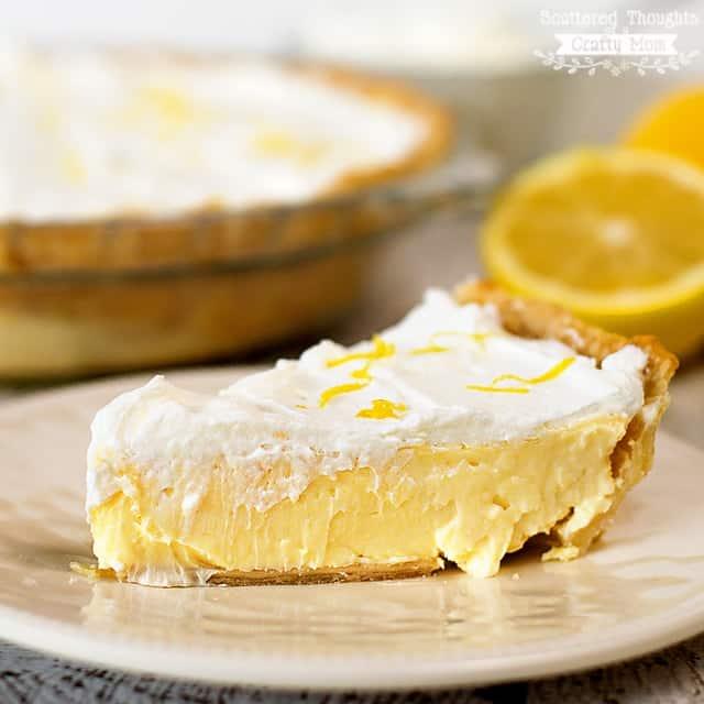 Lemon Cheesecake Pie Recipe