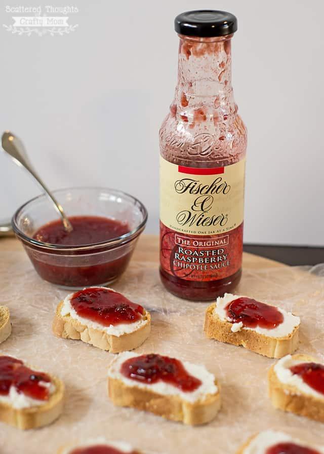 fischer and Wieser Raspberry Chipotle sauce