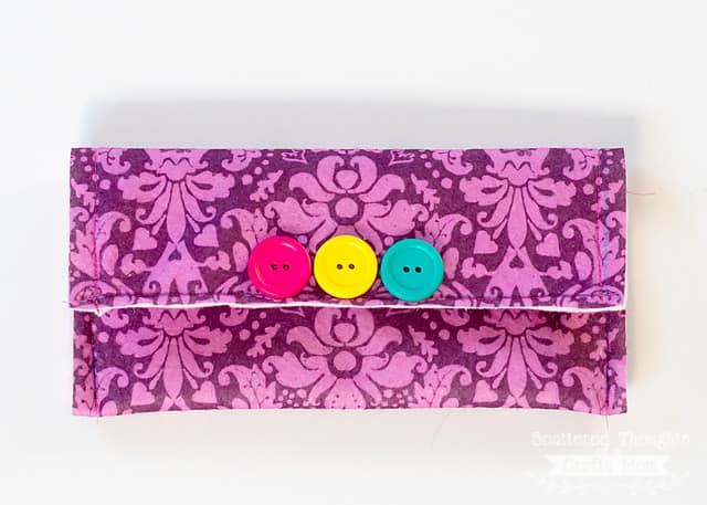 How to make a clutch purse