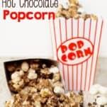 hot chocolate popcorn recipe