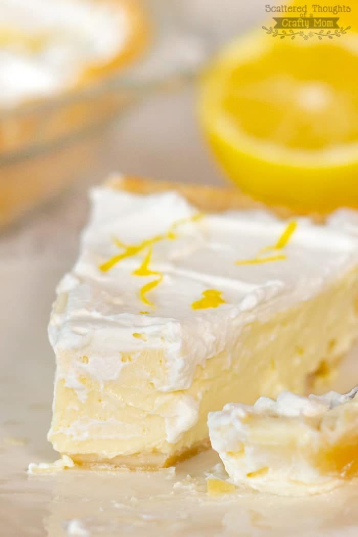 Lemon Cheesecake Pie recipe