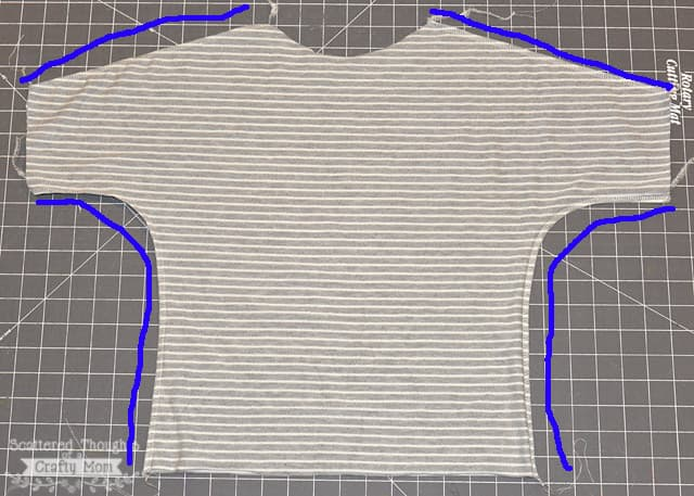 how to sew a dolman top