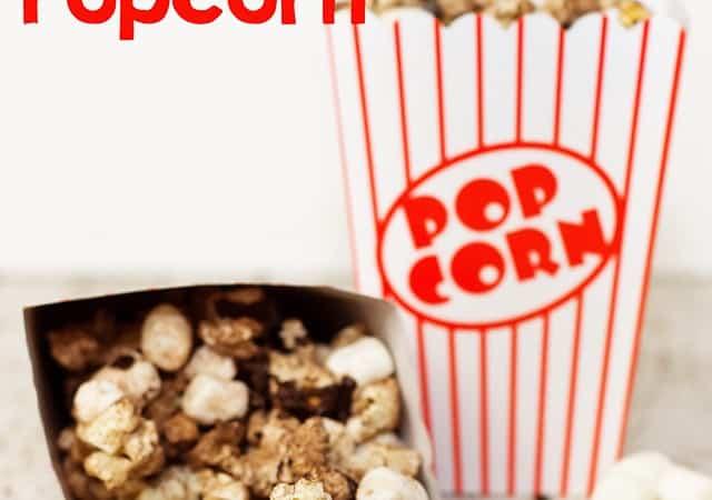 Salty and Sweet Hot Chocolate Popcorn Recipe