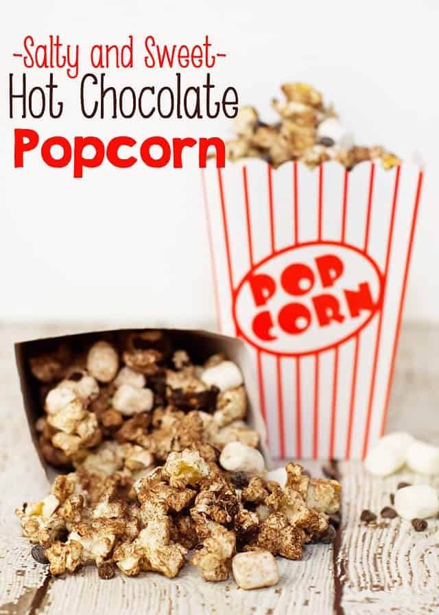 Salty and Sweet Hot Chocolate Popcorn Recipe