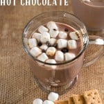 Easy S'mores Hot Chocolate Recipe