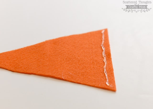 how to make a carrot treat bag (no sew project)