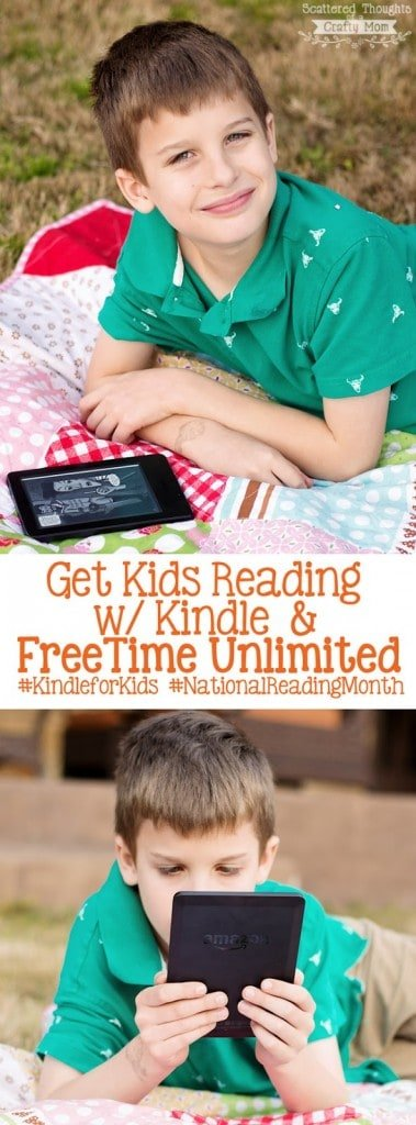 March is National Reading Month (Get your Kids Reading w/ Kindle!)