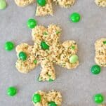 Make these Pinch Proof Rice Krispy Treats for your St. Patrick's Day Celebration!