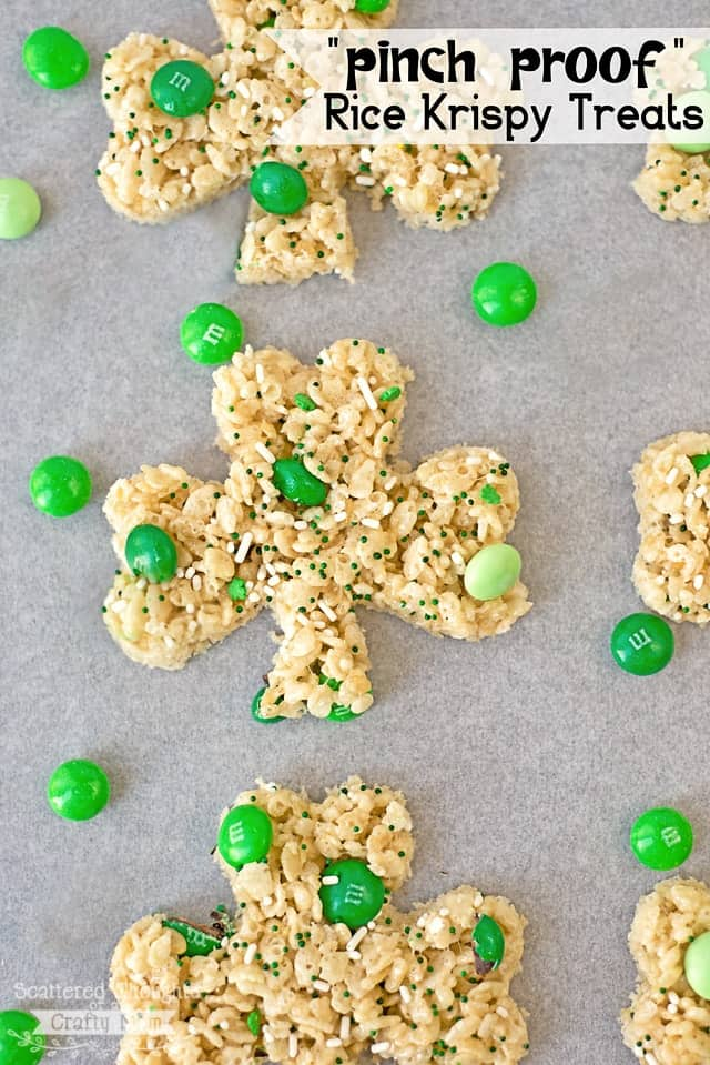 Pinch Proof Rice Krispy Treats