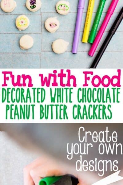 Kid Craft: DIY Decorated Sandwich Crackers