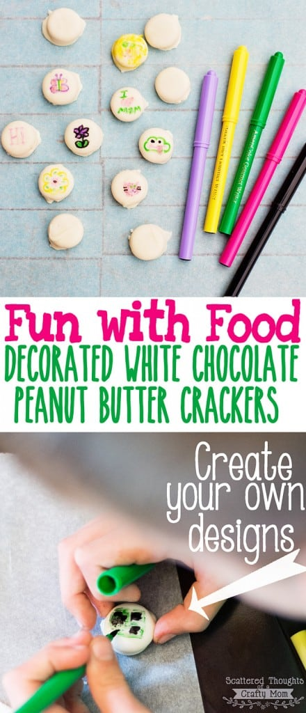 Looking for a fun (and yummy) craft to keep the kids busy? Check out these adorable DIY Decorated Sandwich Crackers!