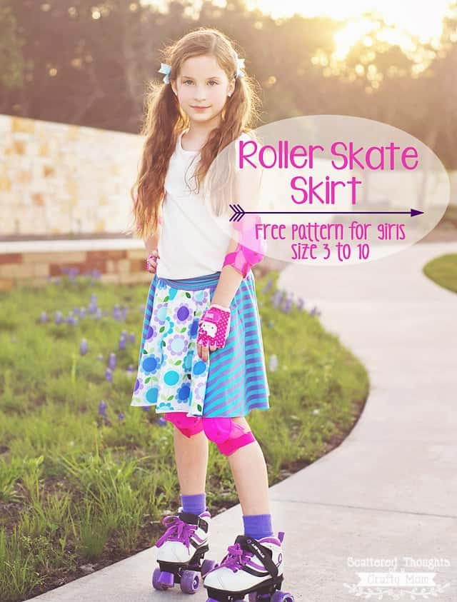 Free circle skirt pattern for girls