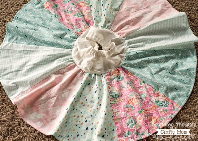 how to make a quarter circle skirt pattern