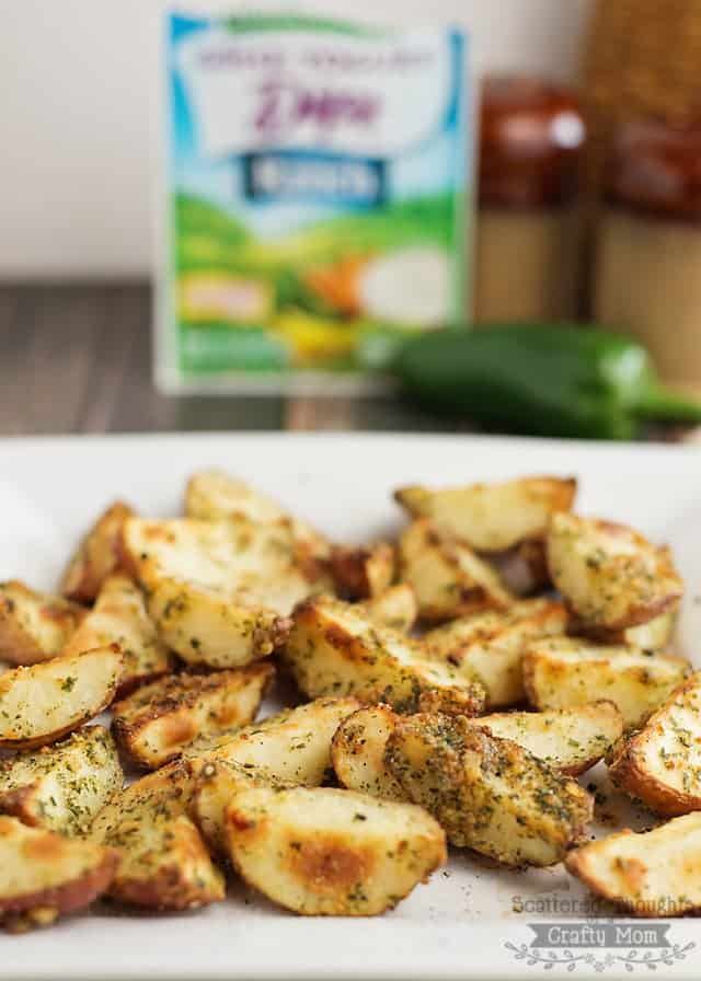 Baked Zesty Parmesan Ranch Potato Wedges