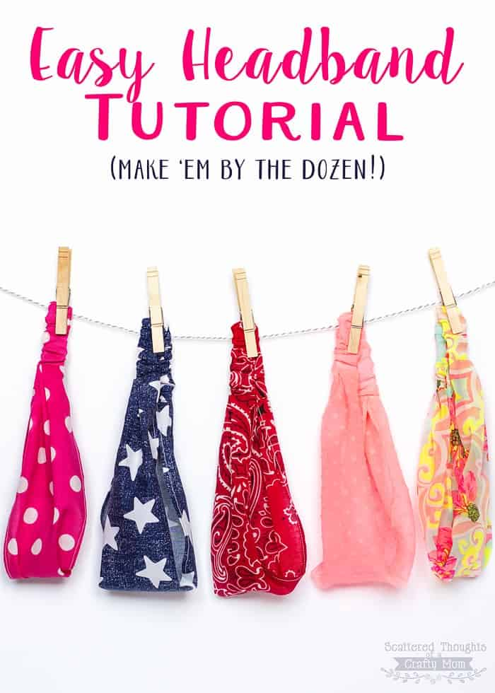 Easy Headband Tutorial