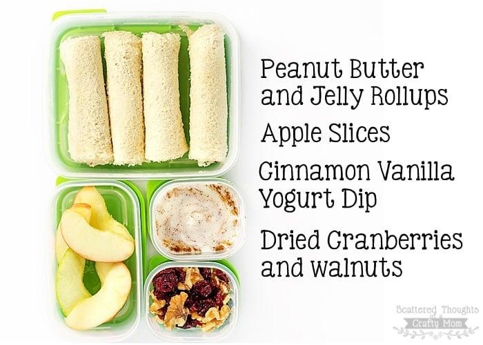 School Lunch Ideas that kids will eat