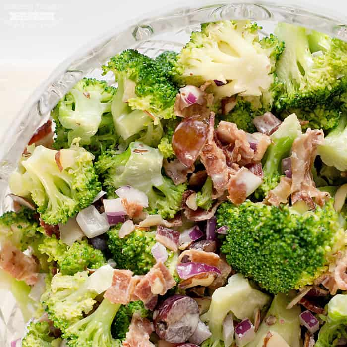 quick broccoli salad recipe