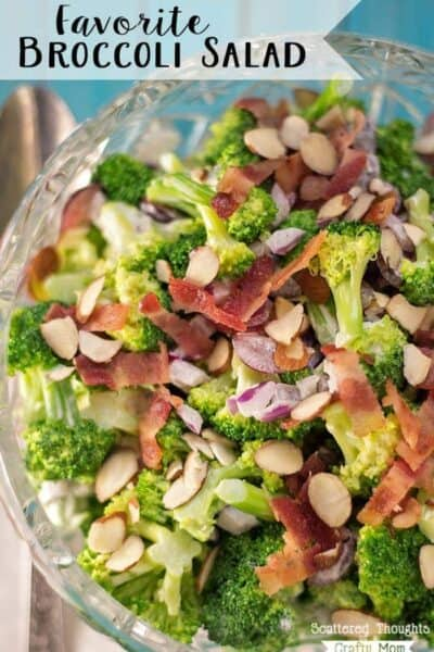 My Favorite Broccoli Salad Recipe