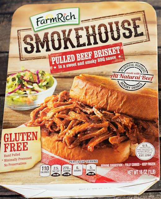 farm rich barbecue beef brisket