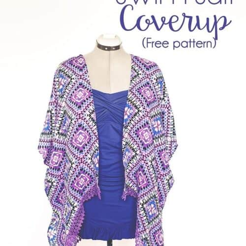 Kimono Swim suit cover up