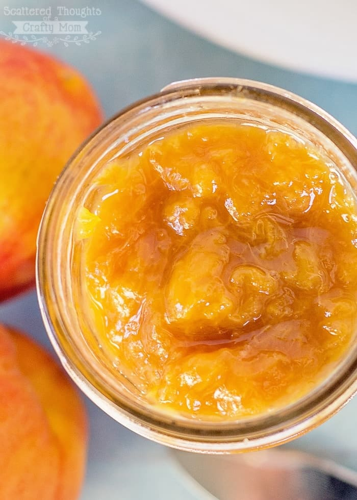 Easy Homemade Peach Jam Recipe (No Pectin) - Scattered Thoughts of a ...