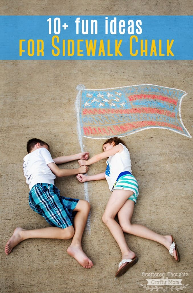 Summer Boredom Busters: 10+ Fun and Creative Sidewalk Chalk Ideas