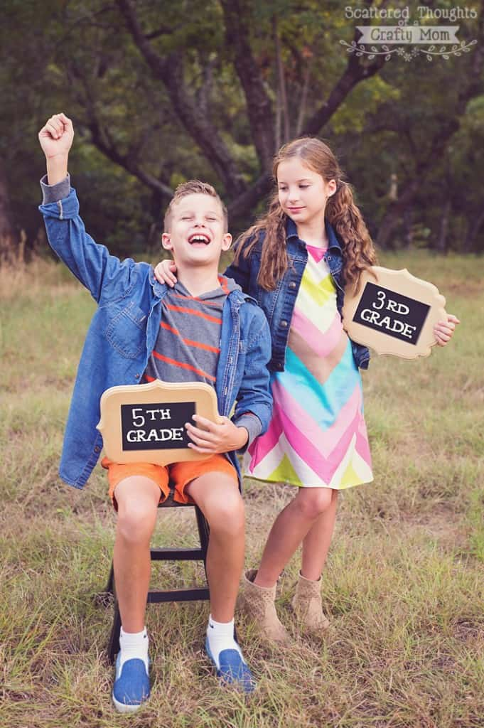 Back to School photo ideas.