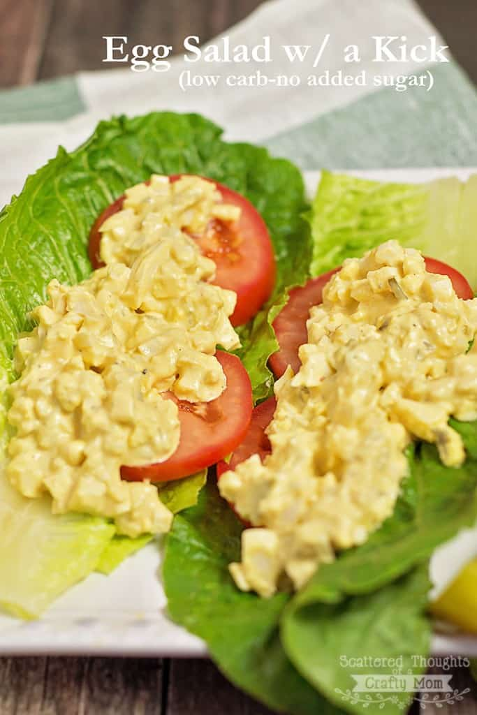 A delicious Egg Salad Recipe with a kick of flavor!