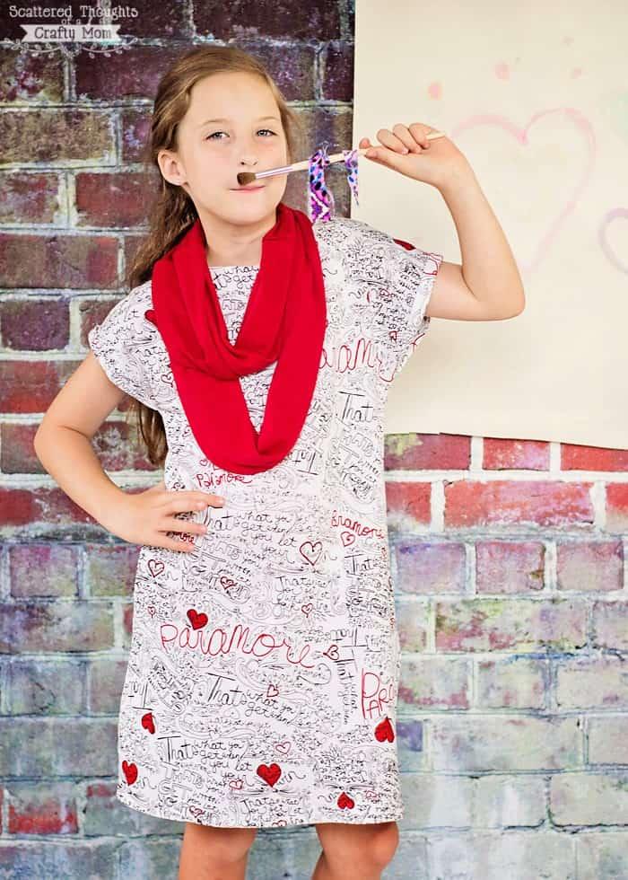 A-line dress pattern, free