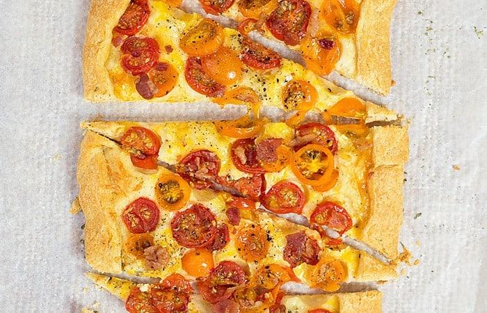 Easy Tomato Galette