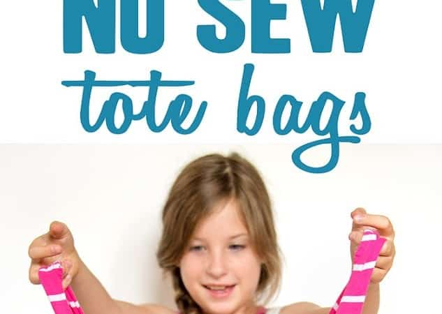 How to Make a Tote Bag From a T-shirt (no sew tote bag)