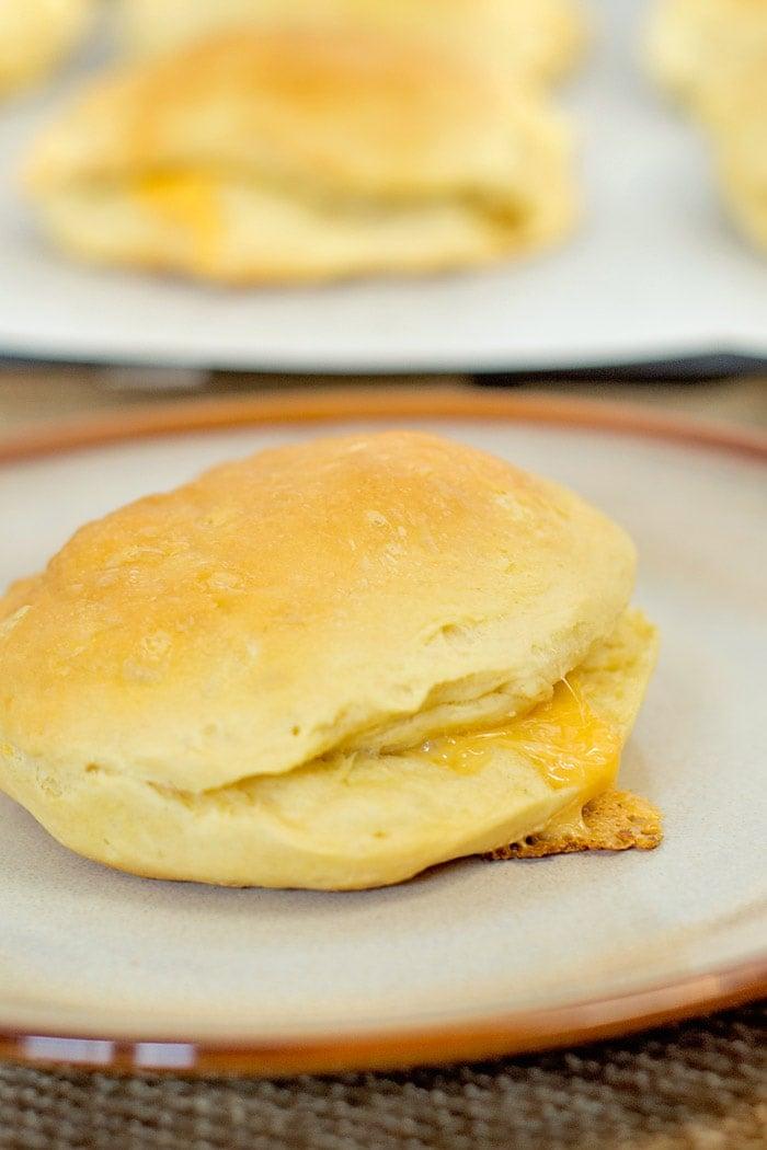 Pillsbury stuffed breakfast biscuit