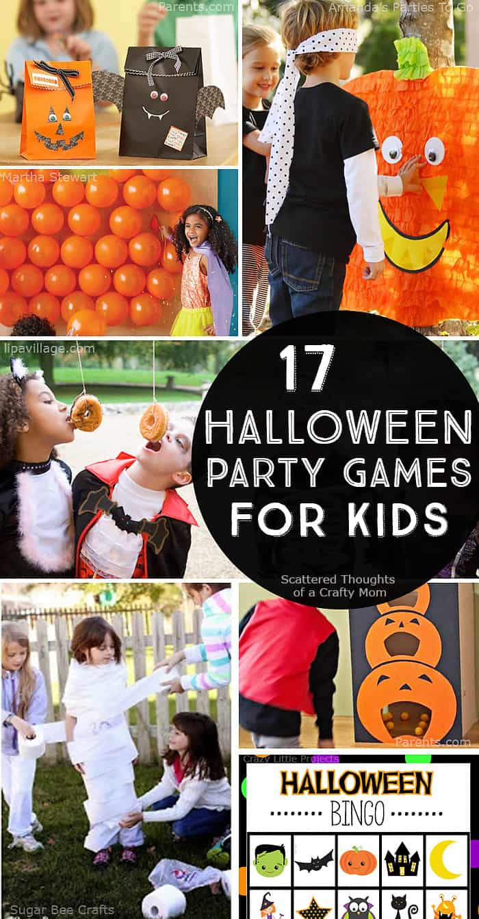 17 Halloween Party Games for Kids - Scattered Thoughts of a Crafty ...