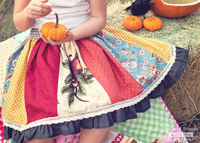 how to sew a twirly skirt
