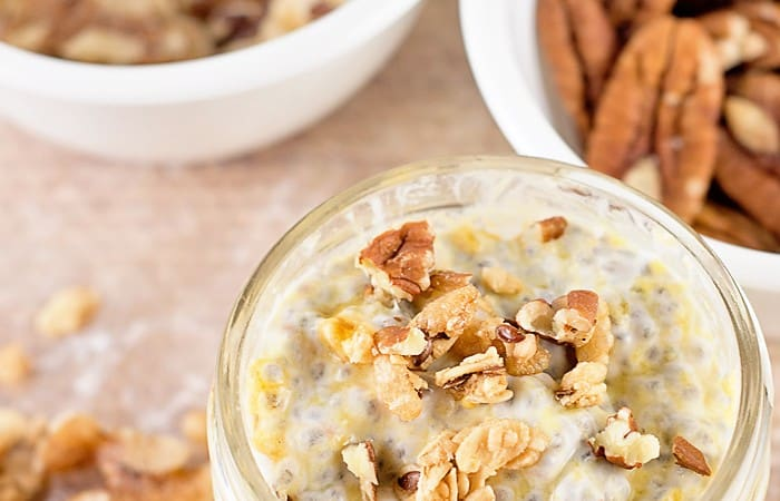 Make Ahead Chia Seed Pudding Snacks