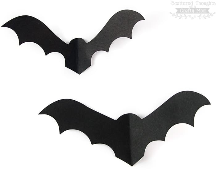 Bats On The Wall This Free Paper Bat Template Is A Perfectly Y Decorating