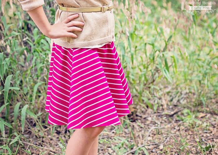 easy circle skirt pattern