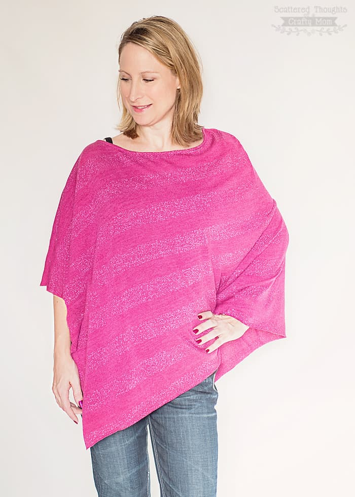 how to make a poncho