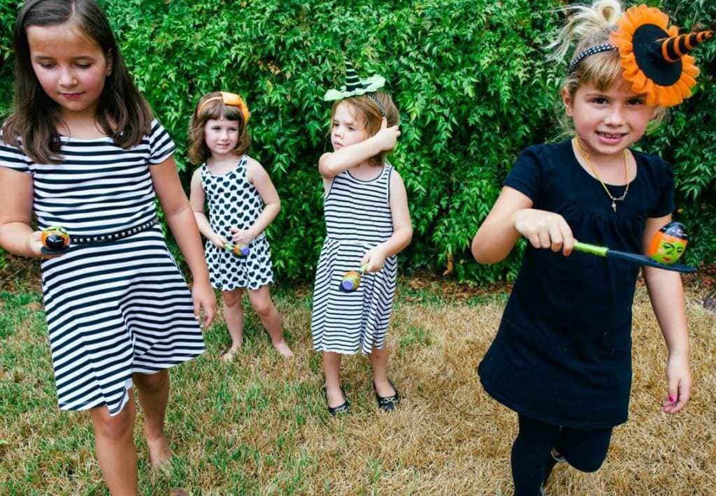 Egg and spoon race - kids party games